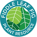 The Fiddle Leaf Fig Plant Resource Logo